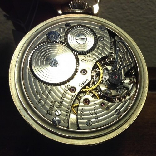 Image of Ball - Hamilton 999B #1B19837 Movement