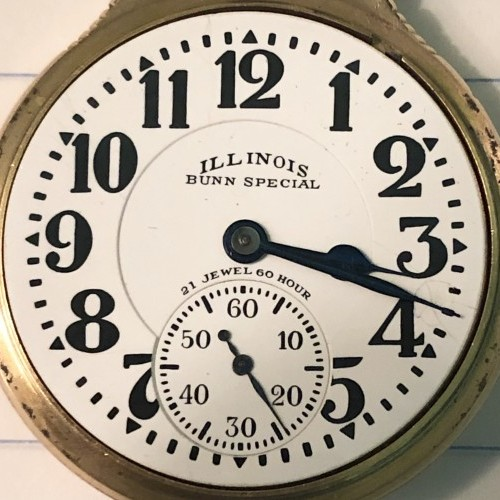Illinois Grade 161 Pocket Watch Image
