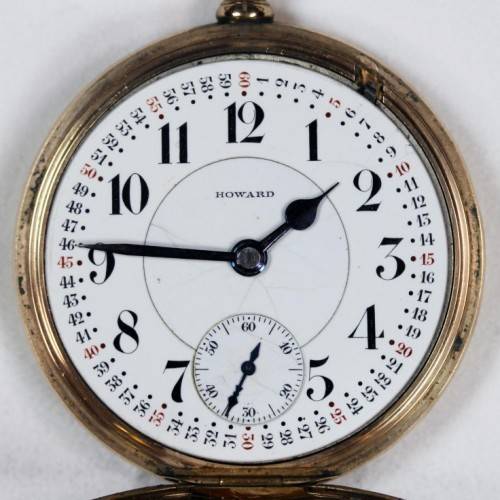 Image of E. Howard Watch Co. (Keystone) Series 5 #1076867 Dial