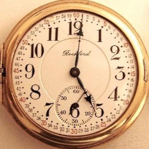 Rockford Grade 320 Pocket Watch Image