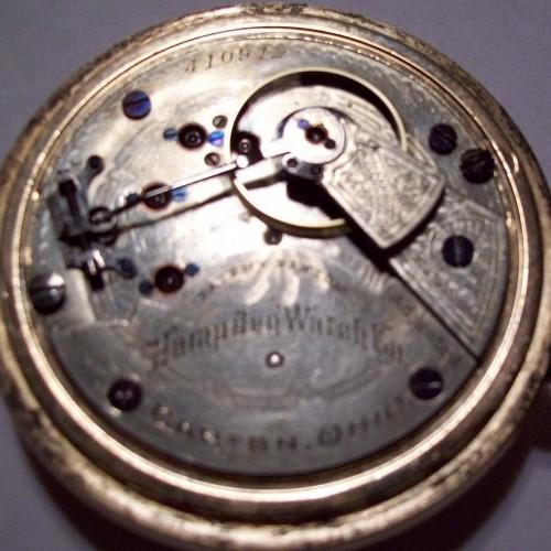 Hampden Grade No. 59 Pocket Watch Image