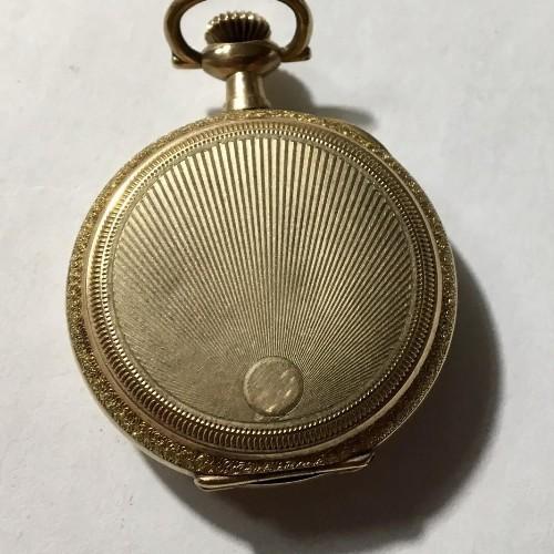 Elgin Grade 298 Pocket Watch Image