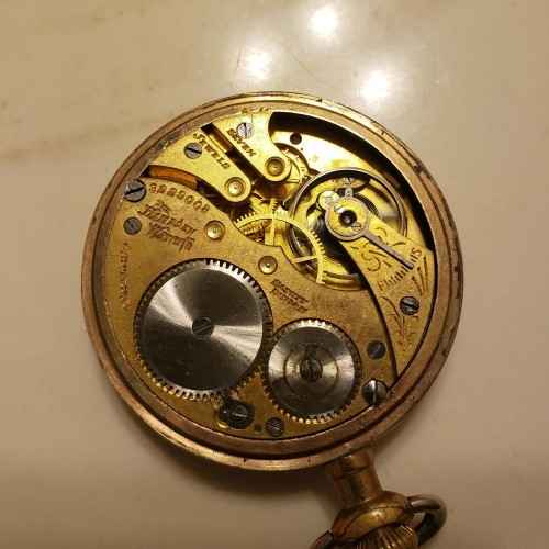 Hampden Grade No. 5 Pocket Watch Image