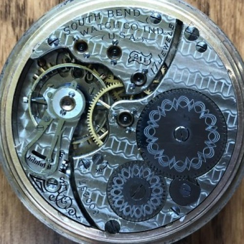 South Bend Grade 211 Pocket Watch Image