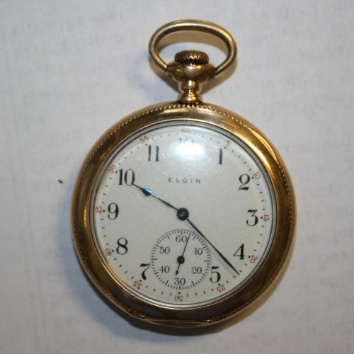Elgin Grade 191 Pocket Watch Image