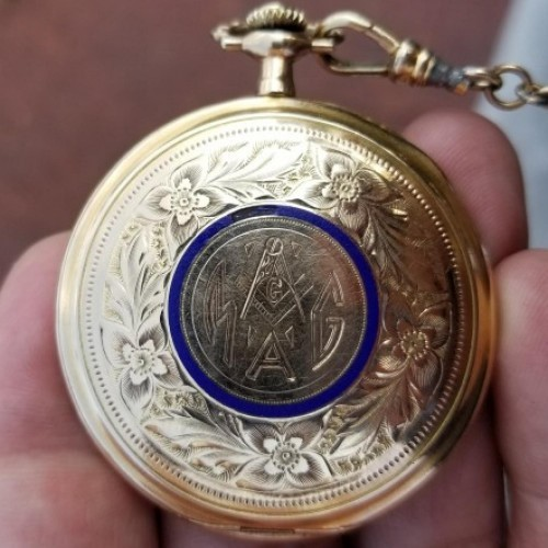 Rockford Grade 151 Pocket Watch Image