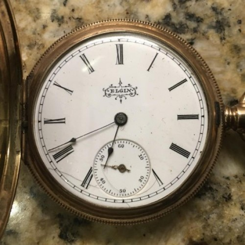 Elgin Grade 117 Pocket Watch Image