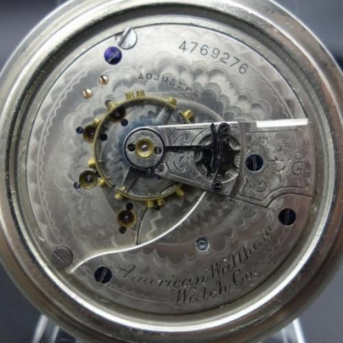 Waltham Grade No. 25 Pocket Watch Image