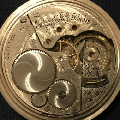 Elgin Grade 158 Pocket Watch Image