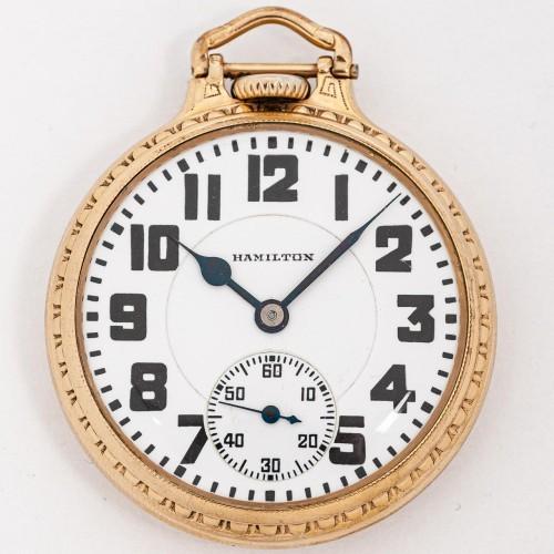 Hamilton Grade 992E Pocket Watch Image