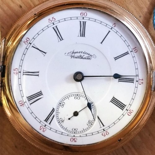Waltham Grade No. 650 Pocket Watch Image