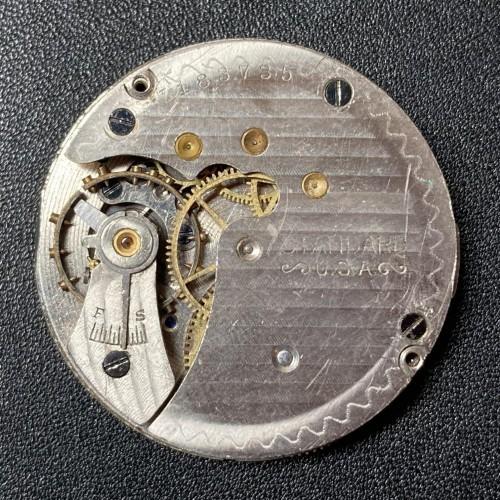 New York Standard Watch Co. Grade 302 Pocket Watch Image