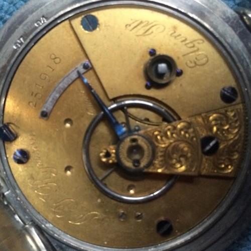 Elgin Grade 55 Pocket Watch Image