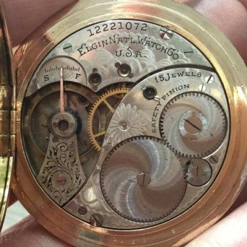 Elgin Grade 302 Pocket Watch Image