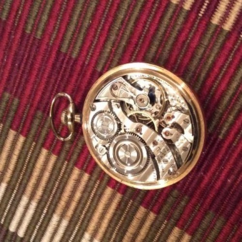 Illinois Grade 107 Pocket Watch