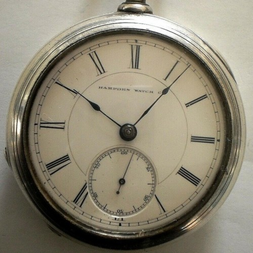Hampden Grade No. 30 Pocket Watch Image