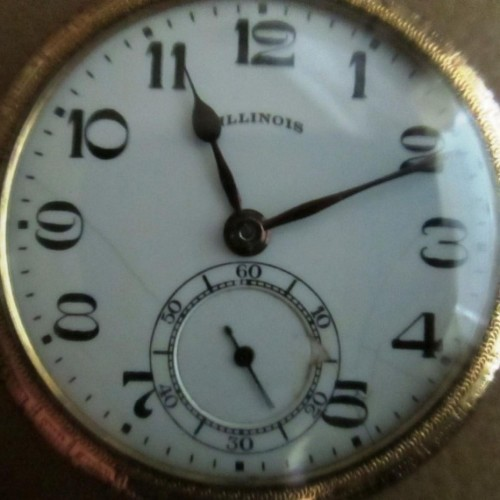 Washington Watch Co. Grade 255 Pocket Watch Image