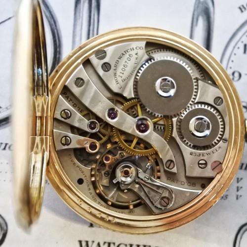 E. Howard Watch Co. (Keystone) Grade Series 8 Pocket Watch Image