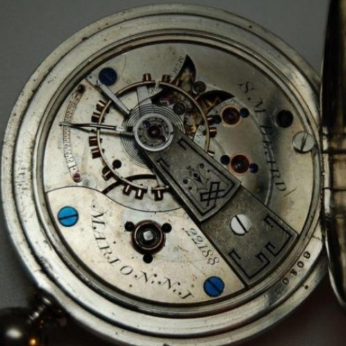 U.S. Watch Co. (Marion, NJ) Grade S.M. Beard Pocket Watch Image