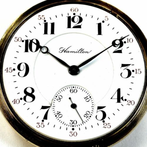 Hamilton Grade 968 Pocket Watch Image