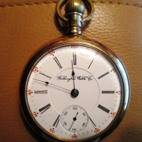 Washington Watch Co. Grade  Pocket Watch Image
