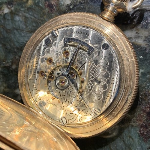 Elgin Grade 163 Pocket Watch Image