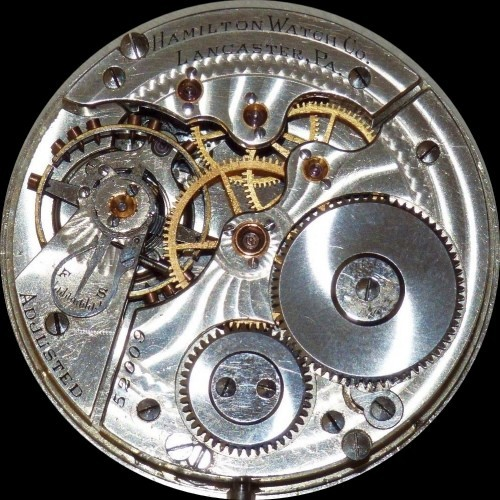 Hamilton Grade 968 Pocket Watch Image