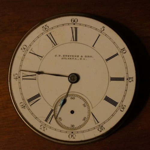J.P. Stevens Watch Co. Grade Special Pocket Watch Image