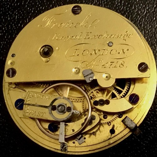 Other Grade Joseph French Royal Exchange Pocket Watch Image