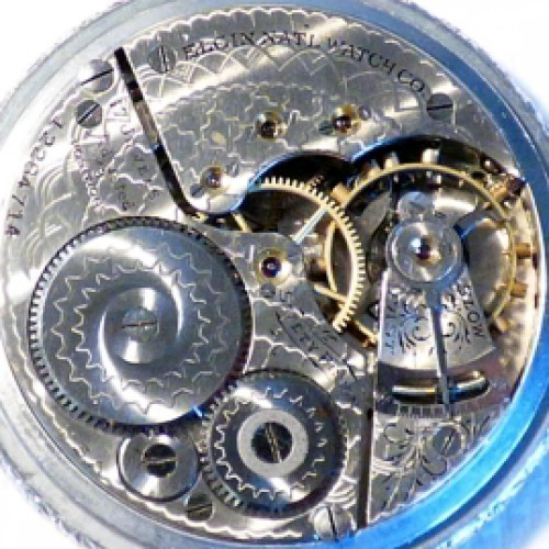 Elgin Grade 342 Pocket Watch Image