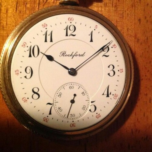 Rockford Grade 625 Pocket Watch Image