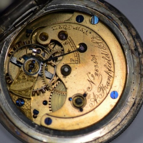 U.S. Watch Co. (Marion, NJ) Grade Special Order - A. Frankfield and Co New York (J.W. Deacon) Pocket Watch Image
