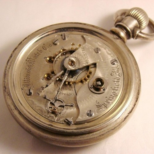 Illinois Grade 103 Pocket Watch Image