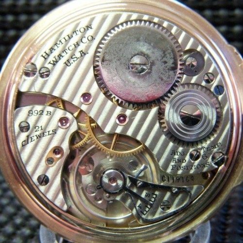 Image of Hamilton 992B #C119164 Movement