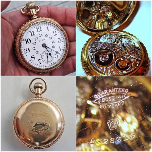 Elgin Grade 214 Pocket Watch Image