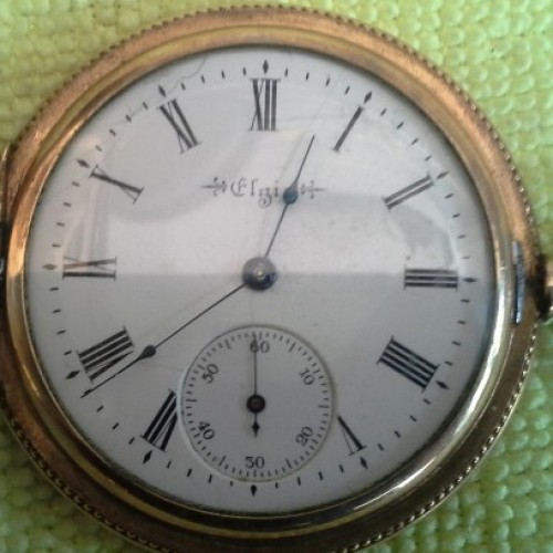 Elgin Grade 216 Pocket Watch Image