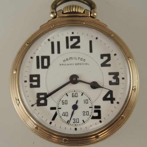 Hamilton Grade 992B Pocket Watch Image