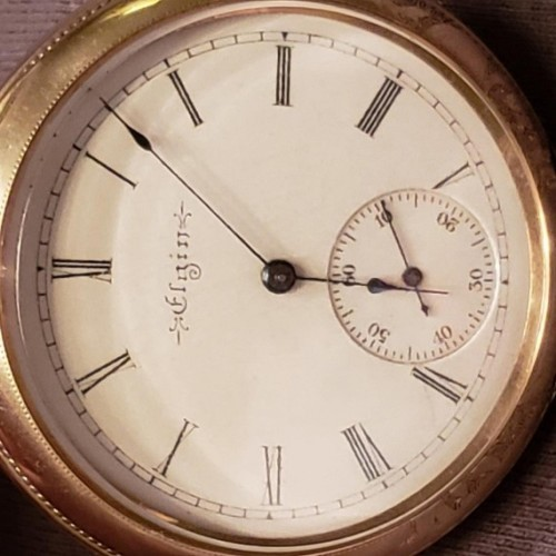 Elgin Grade 211 Pocket Watch Image