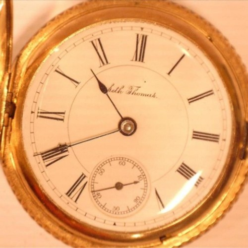 Seth Thomas Grade 171 Pocket Watch Image