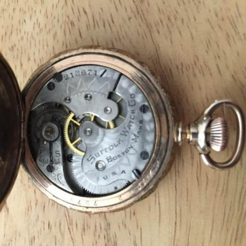 Suffolk Watch Co. Grade  Pocket Watch Image