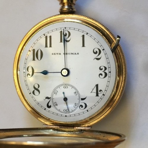 Seth Thomas Grade 260 Pocket Watch Image