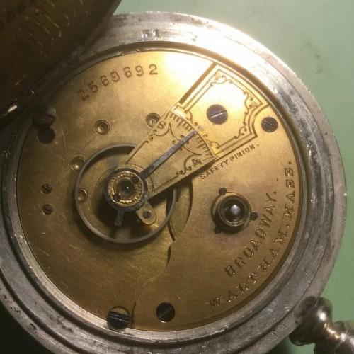 Waltham Grade Broadway Pocket Watch Image