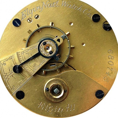 Elgin Grade 7 Pocket Watch Image