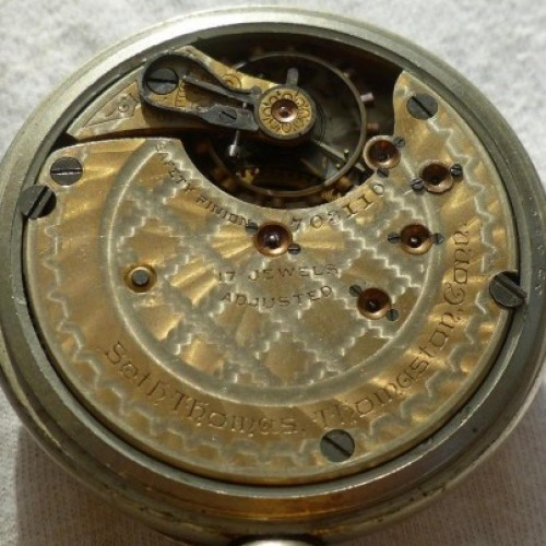 Seth Thomas Grade 211 Pocket Watch Image
