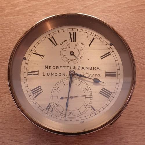 Other Grade Negretti & Zambra 56 hours marine chronometer. London No. 2273 Pocket Watch Image