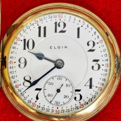 Elgin Grade 371 Pocket Watch Image