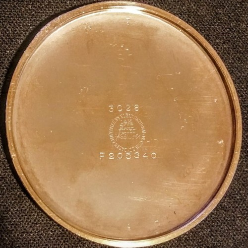 Elgin Grade 543 Pocket Watch