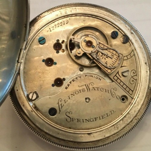 Illinois Grade 99 Pocket Watch