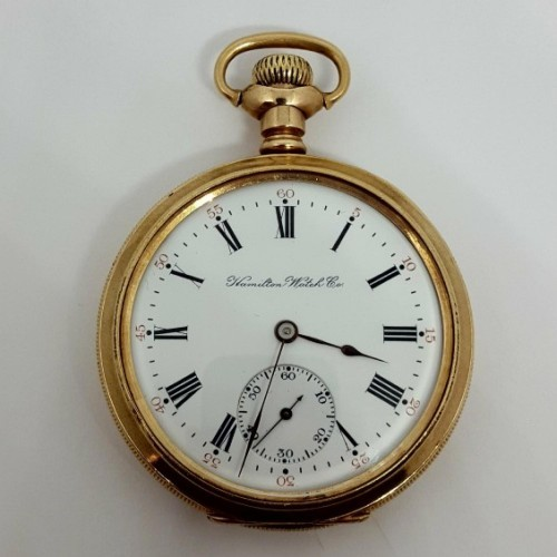 Hamilton Grade 962 Pocket Watch