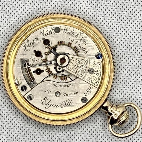Elgin Grade 124 Pocket Watch Image